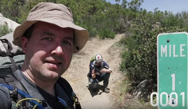 The Pacific Crest Trail In 4 Minutes Flat